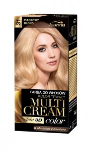 Multi Cream Color - 31 - Piaskowy blond