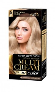 Multi Cream Color - 32 - Platynowy blond