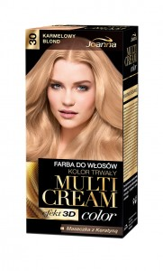 Multi Cream Color - 30 - karmelowy blond