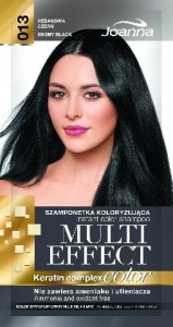 Multi Effect Color - 013 - Hebanowa Czerń