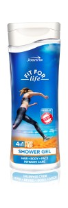 FIT FOR LIFE żel pod prysznic 4w1 WOMEN 300ml