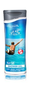 FIT FOR LIFE żel pod prysznic 5w1 MEN 300ml